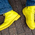 Yellow Docs and Blue Jeans (magic moment) by Lyndy