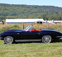 1963 Chevrolet Corvette Convertible by HALIFAXPHOTO