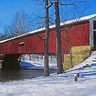 Deer's Mills Covered Bridge by Rick Montgomery