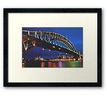 CAPTIVATING SYDNEY AUSTRALIA Framed Print