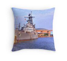 USS Little Rock Throw Pillow