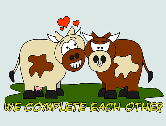 We Complete Each Other by Maria  Gonzalez