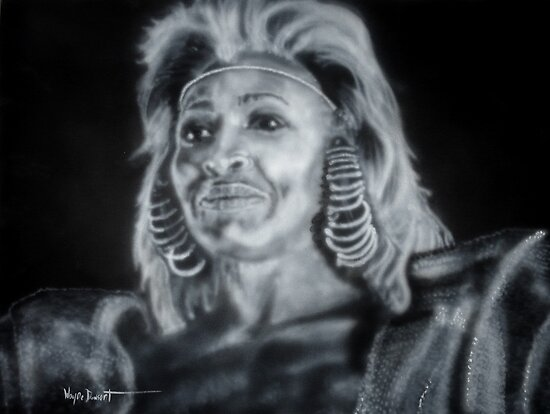 MAD MAX TINA TURNER by Wayne Dowsent
