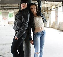PhotoShoot in the old mill #005 by Andy Beattie