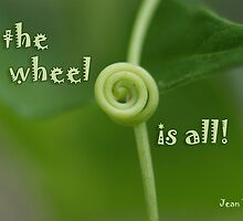 the wheel is all by Fran E.