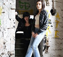 PhotoShoot in the old mill #035 by Andy Beattie