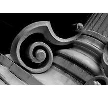 pillars of a community B&W Photographic Print