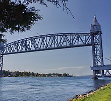Cape Cod Canal Railroad Bridge, Massachusetts by AnnDixon