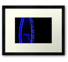 My Eye On London's Eye Framed Print