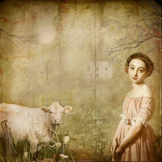 la laitière et sa vache by dawne polis