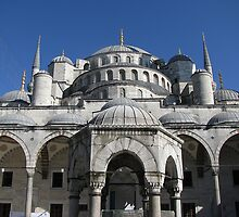 Dome of Blue Mosque-TURKEY by rasim1
