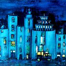 blue castle by agns trachet