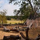 Indian Teepee by John Chandler