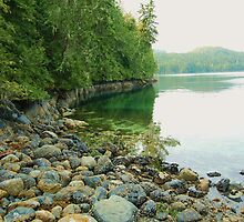 Echo Bay, Gilford Island by Lisa Baumeler