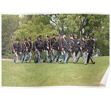Civil War Reenactment Poster
