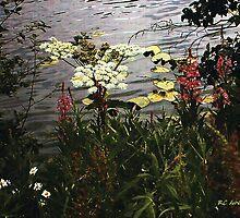 Floradawn on Silk by RC deWinter