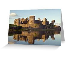 Caerphilly Reflections Greeting Card