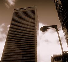 HSBC, Canary Wharf, London, England, UK by Chris Millar