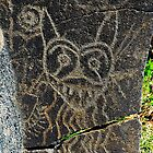 Petroglyphs on the Columbia by David Lee Thompson