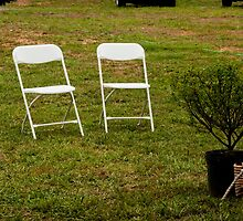 Chairs at a Wedding by Jay Gross