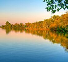 Sunset on Patrick Lake by ECH52