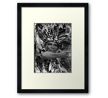 The Chief of Boca Da Valeria ~ B&W Framed Print