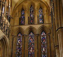The Great East Window, Beverley, Minster by wiggyofipswich