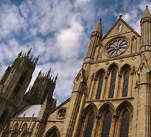South Transept & West Towers, Beverley by wiggyofipswich