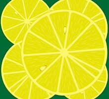 Lemon background by Laschon Robert Paul