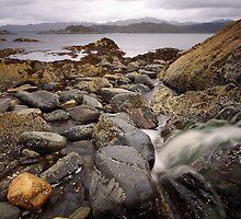 Glenuig Coastline. by John Cameron
