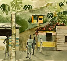Jamaica Street by Rainer Jacob