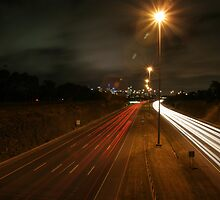 The Eastern Freeway by Anthony Milnes