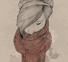 My Comfortable Scarf. by Janeyalice