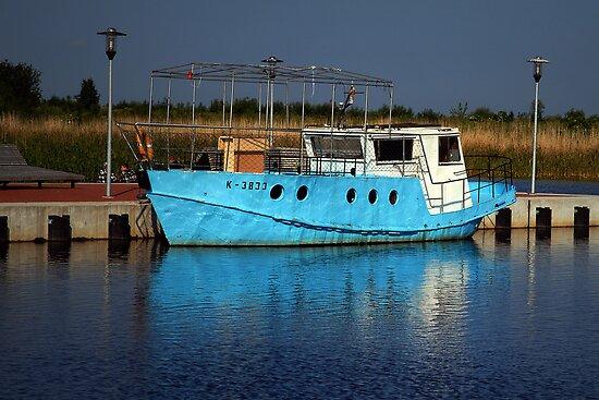Boat K-3833 by Antanas
