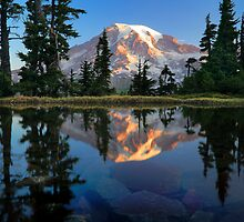 Rainier Reflected by Inge Johnsson