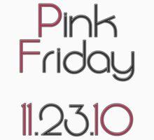 Nicki Minaj's Pink Friday by MistaJalil