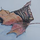 Autumn Leaf by Geraldine M Leahy
