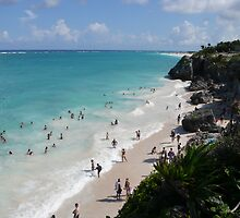 Tulum in the Yukatan by Sue Todd