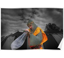 Robert the Bruce and the sword Poster