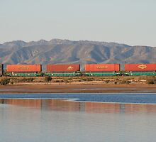 Shunting trains,Port Augusta,S.A. by elphonline