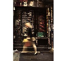 Urban Rush Photographic Print