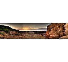 Hilbre Island Sunset Photographic Print