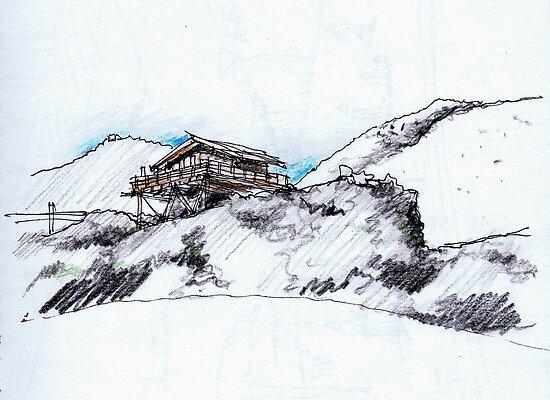 Mt. Ruapehu by iskamontero