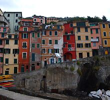 Riomaggiore by Allison Peters
