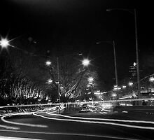 "Melbourne - ""Streetscape"" #3 by Belinda J Bennett"
