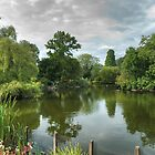 Dulwich Lake HDR No2: London, UK. by DonDavisUK