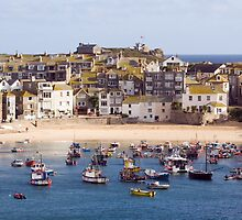 St Ives Harbour Village by Lizzylocket