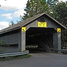Doyle Road Covered Bridge by Monnie Ryan