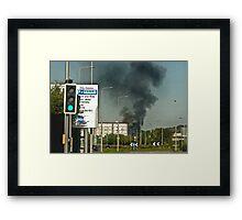 Fire I Framed Print