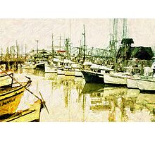 Fisherman's Wharf Photographic Print